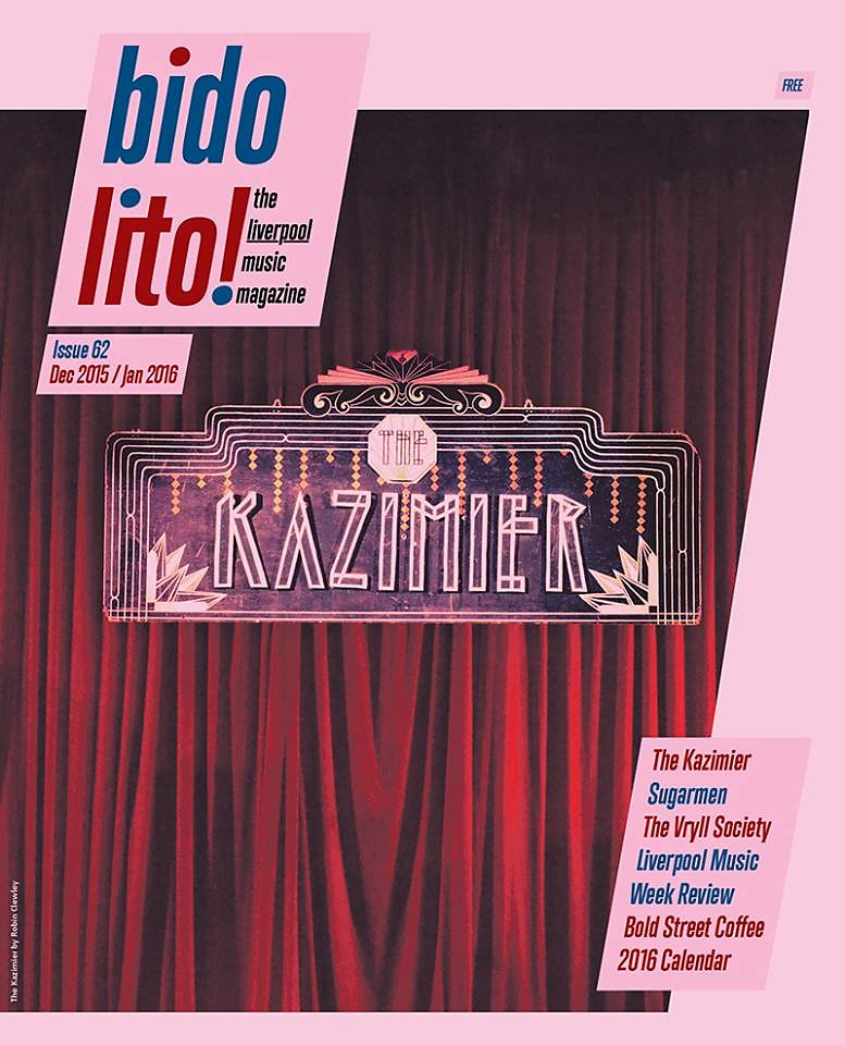 Bido Lito Magazine Front Cover The Kazimier