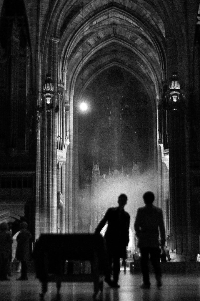Liverpool Cathedral Silhouettes